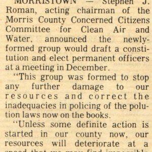 The Greening of The Roman Media Group - Stephen J. Roman, Sr. Eco Warrior