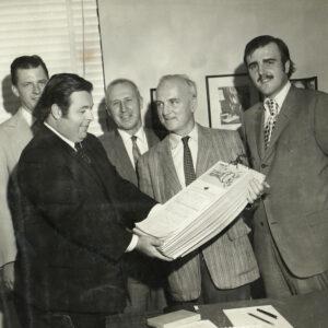With Congressman Peter Frelinghuysen, Nick Gaffney, John Kroeger & State Senator Jim Vreeland at Congressman Frelinghuysen's Offices in Washington D.C